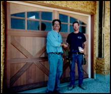 Greenville Door Sales on-site installation